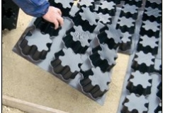 installazione Cassaforma Cemento ed Erba