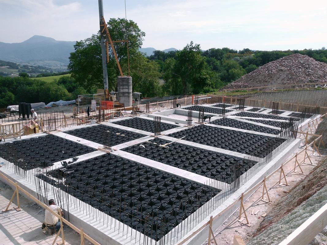 Vespaio Areato Altezza Minima plastiche 3f s.r.l. prodotti per edilizia, garden e sport